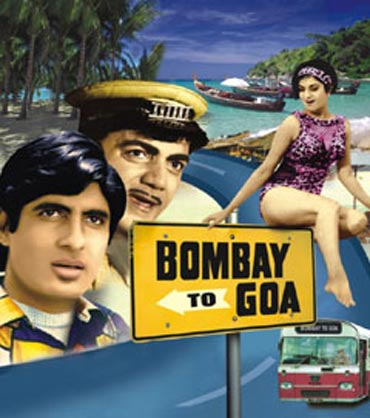 A poster of Bombay To Goa