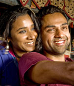 Tannishtha Chatterjee and Abhay Deol in Road