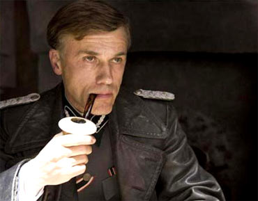 Christoph Waltz in Inglorious Basterds
