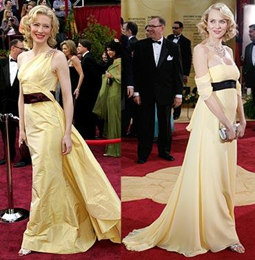 Cate Blanchett and Naomi Watts
