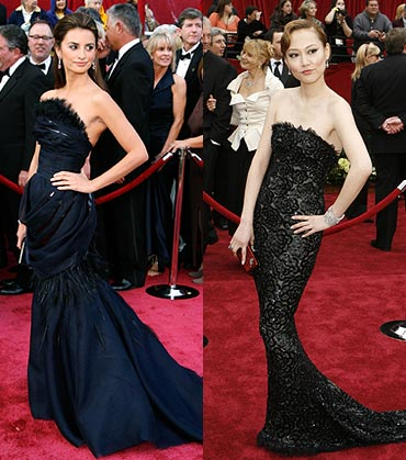 Penelope Cruz and Rinko Kikuchi