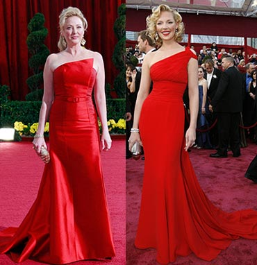 Virginia Madsen and Katherine Heigl