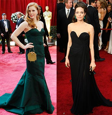 Amy Adams and Angelina Jolie