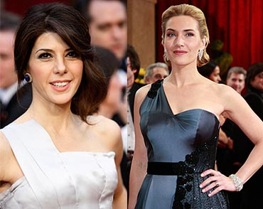 Marisa Tomei and Kate Winslet