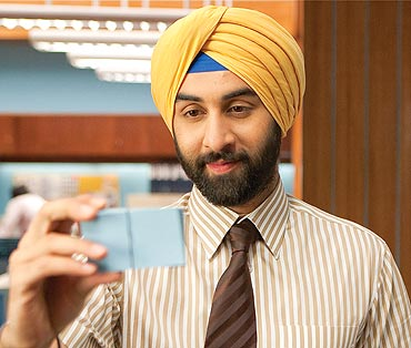 A scene from Rocket Singh: Salesman Of The Year