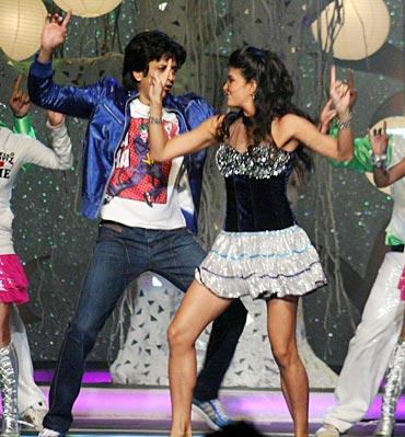 Riteish Deshmukh and Jaqueline Fernandez
