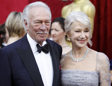 Christopher Plummer and Helen Mirren