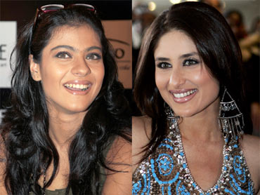 Kajol and Kareena Kapoor