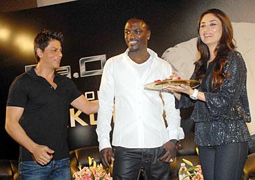 Shah Rukh Khan Akon, Kareena Kapoor