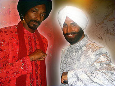 Snoop Dogg and Akshay Kumar