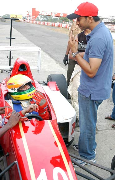 Ajith and Narain Karthikeyan