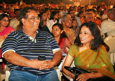 Satish Kaushik and Seema Biswas