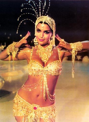Zeenat Aman in Satyam Shivam Sundaram