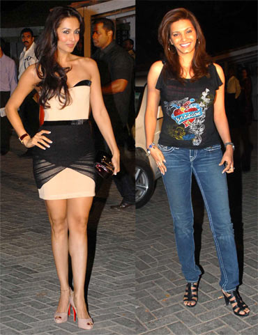 Malaika Arora Khan and Diana Hayden