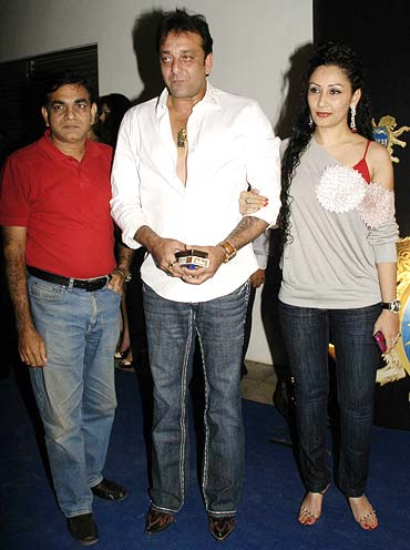 Sanjay Dutt and Manyata