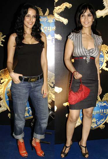 Neha Dhupia and Anupama Verma
