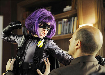 A scene from Kick-Ass