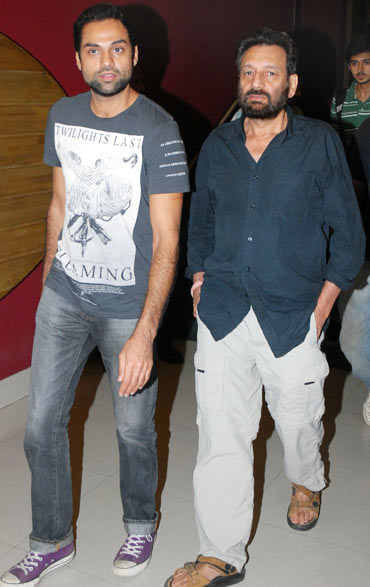 Abhay Deol and Shekhar Kapoor