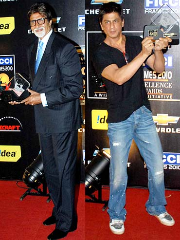 Amitabh Bachchan, Shah Rukh Khan