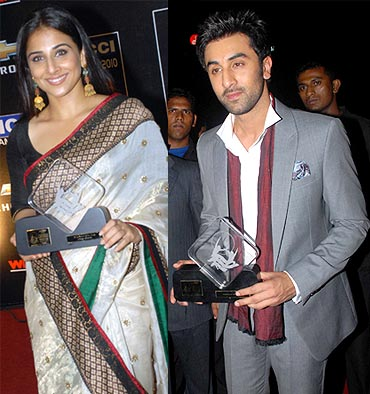 Vidya Balan, Ranbir Kapoor