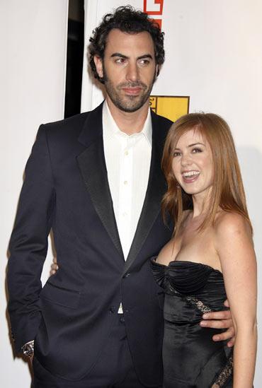 Taylor Swift, Jake Gyllenhaal back together? - Rediff.com ...Sacha Baron Cohen Wife
