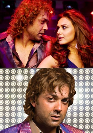Bobby Deol and Preity Zinta in Jhoom Barabar Jhoom