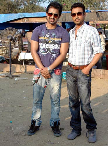 Ranvijay Singh and Irrfan Khan
