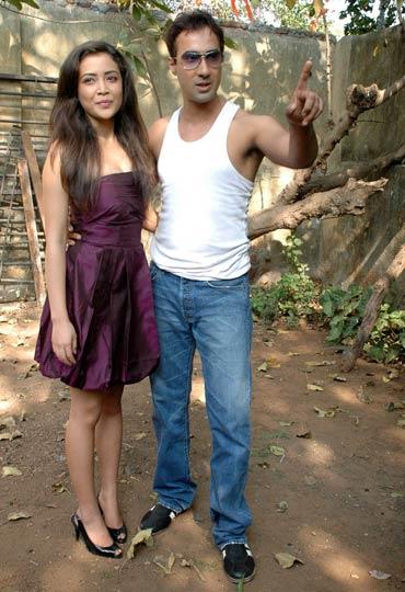 Geetanjali Thapa and Ranvir Shorey