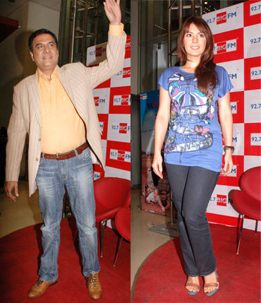 Boman Irani and Minissha Lamba