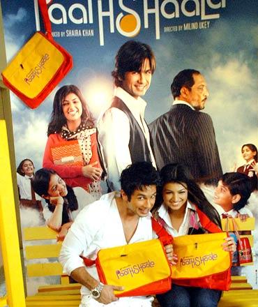 Shahid Kapoor and Ayesha Takia Azmi