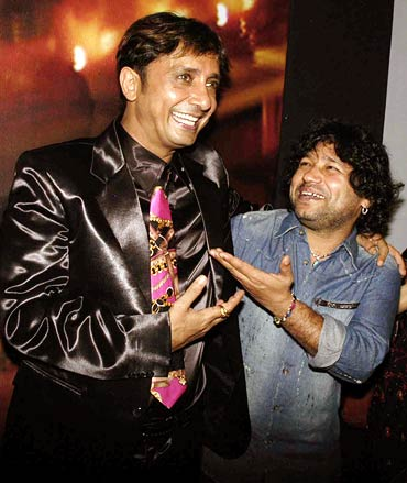 Sukhwinder Singh and Kailash Kher