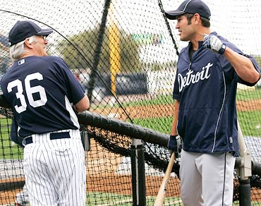 Richard Gere and Johnny Damon