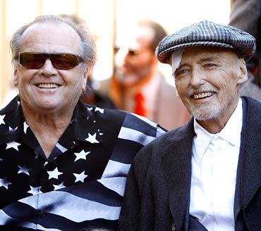 Jack Nicholson and Dennis Hopper
