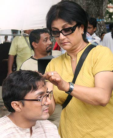 Rahul Bose and Aparna Sen