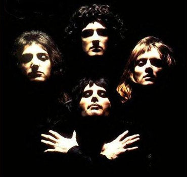 A scene from Bohemian Rhapsody