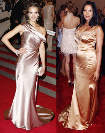 Jessica Alba and Padma Lakshmi