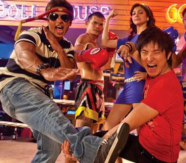 A scene from Badmaash Company