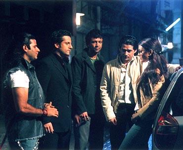 A scene from Ek Khiladi Ek Haseena