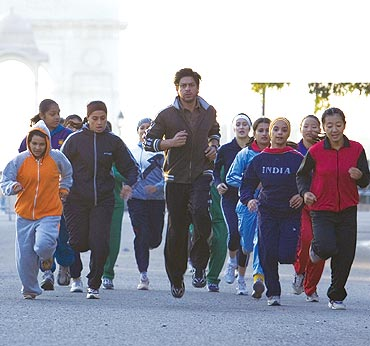 A scene from Chak De India