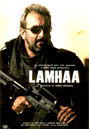 A poster of Lamhaa