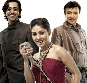 Salim Merchant, Sunidhi Chauhan and Anu Malik