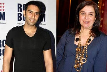 Sandip Soparrkar and Farah Khan
