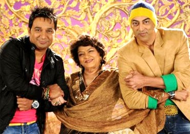 Ahmed Khan, Saroj Khan and Vindu Dara Singh