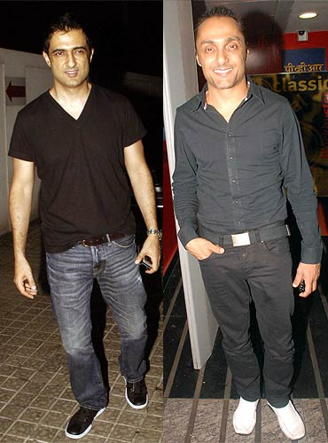Sanjay Suri and Rahul Bose