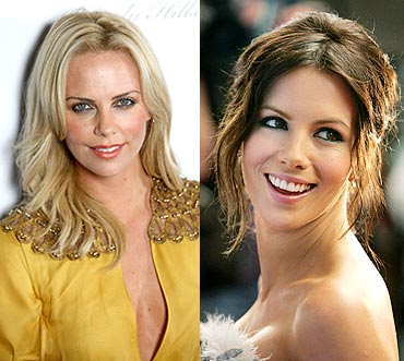 Charlize Theron and Kate Beckinsale