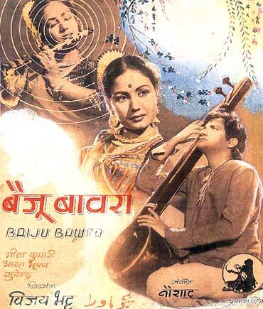 A poster of Baiju Bawra