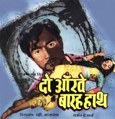 A poster of Do Aankhen Barah Haath