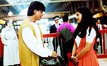 A scene from Dilwale Dulhania Le Jayenge