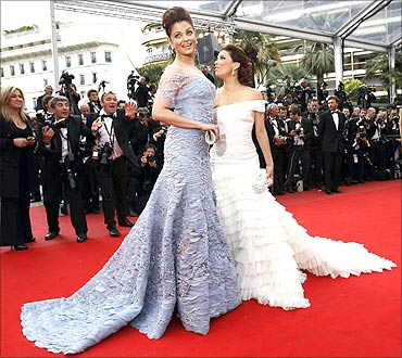 Aishwarya Rai and Eva Longoria