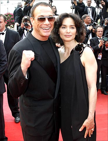 Van Damme and Gladys